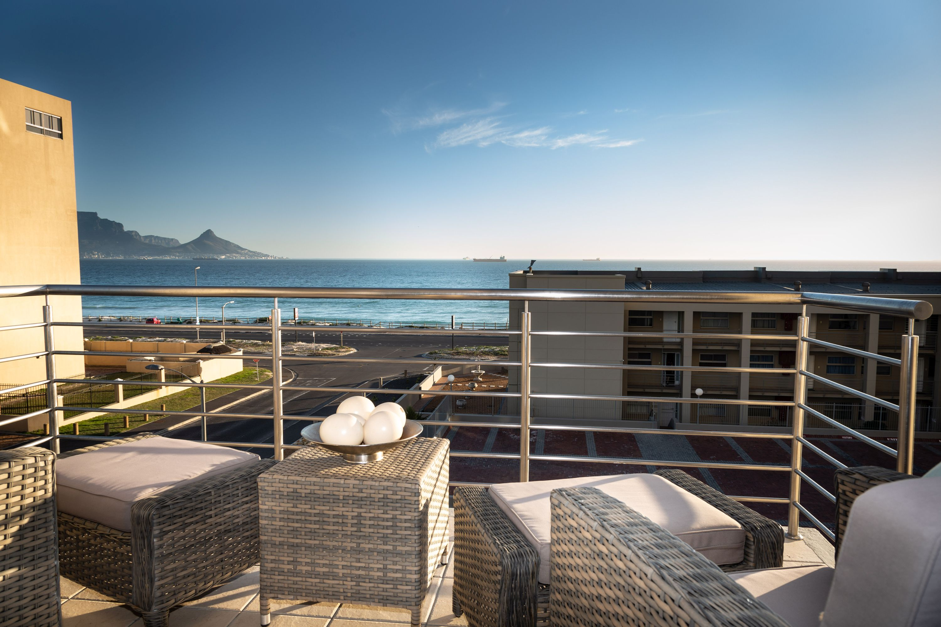 The Waves 206 is newly furnished apartment in Blouberg