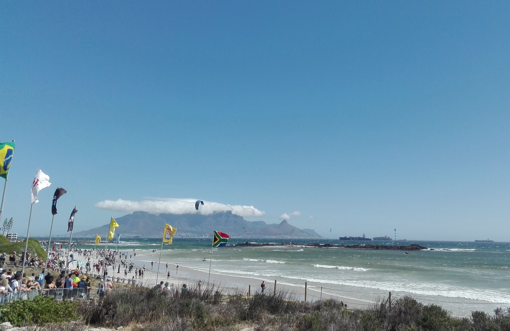 Big Bay kitesurfing competition