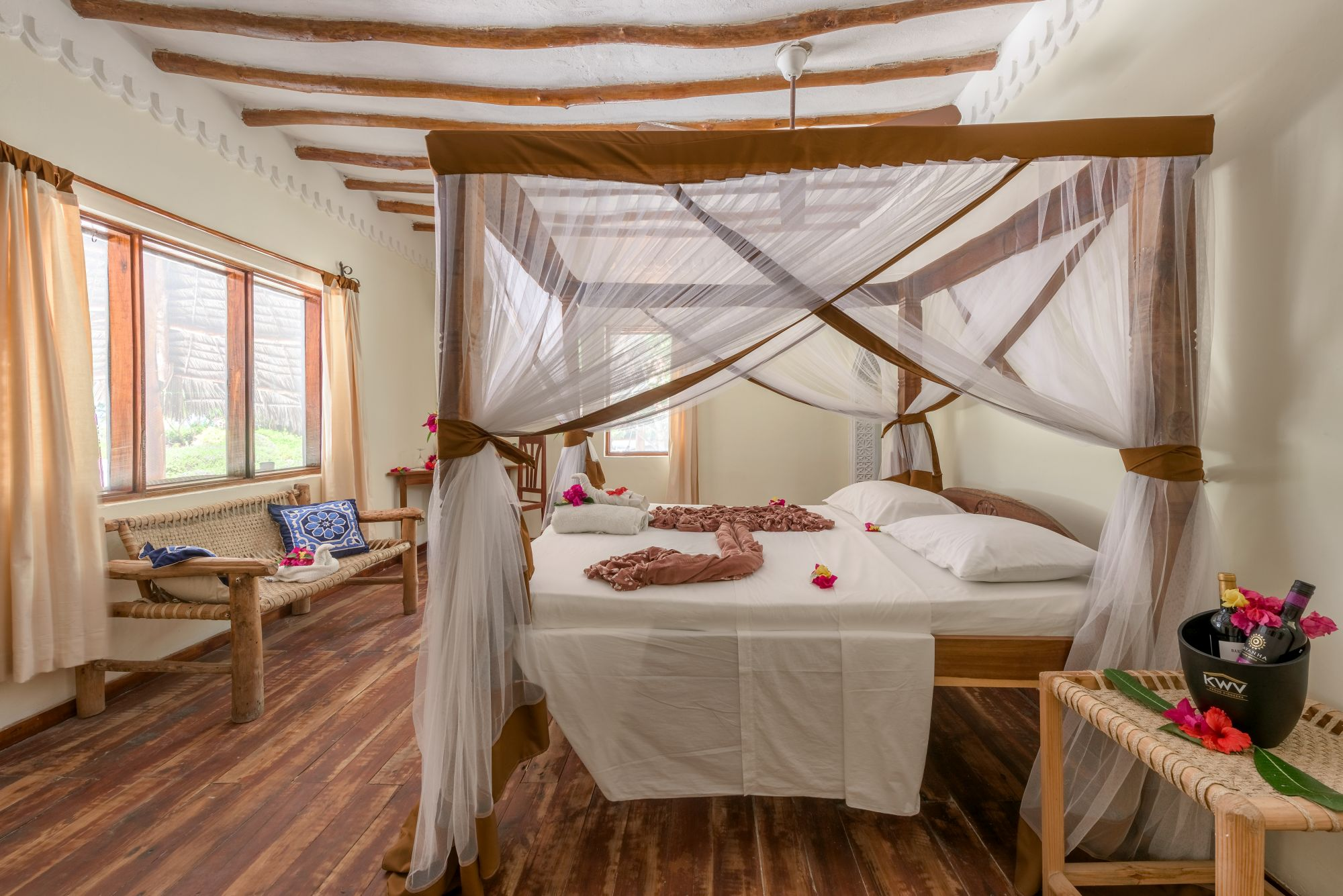 Hakuna Majiwe Lodge Paje, Zanzibar - garden room