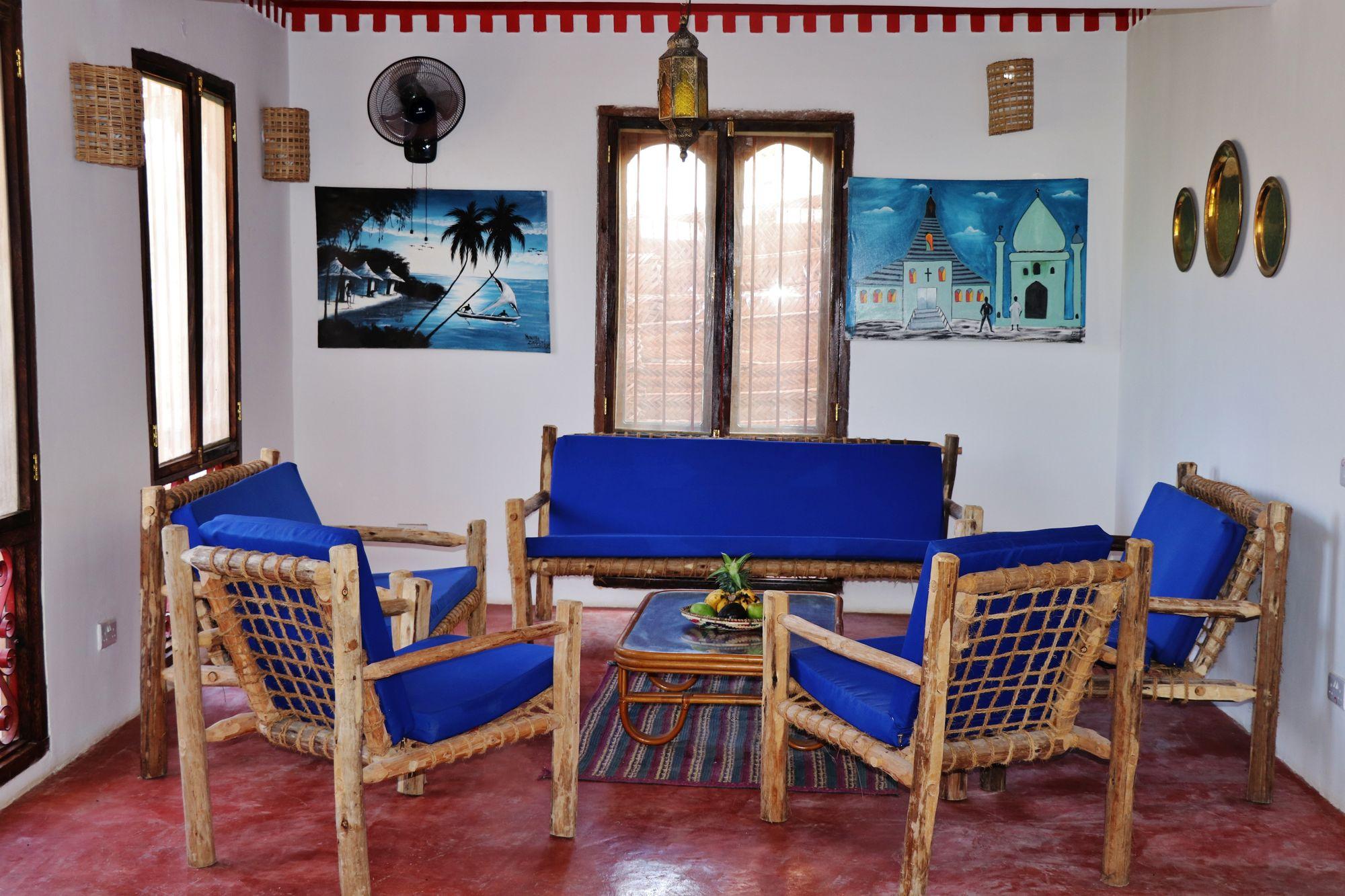"""Zawadyvilla has beautifully carved, heavy wooden """"Zanzibar Door"""""""