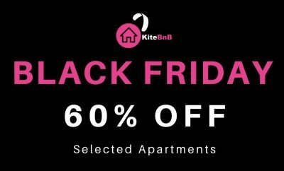 29.11.2019. Black Friday Deals for accommodation in Cape Town