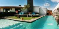 Windtown-Langebaan-Pool-View-kitesurfing-hotel