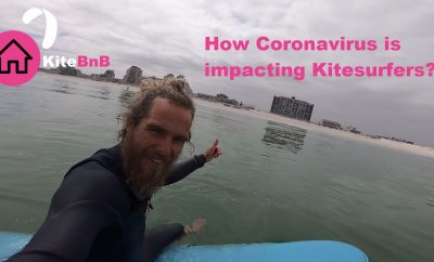 How Coronavirus is impacting kitesurfers – Victor from Harlem Kitesurfing